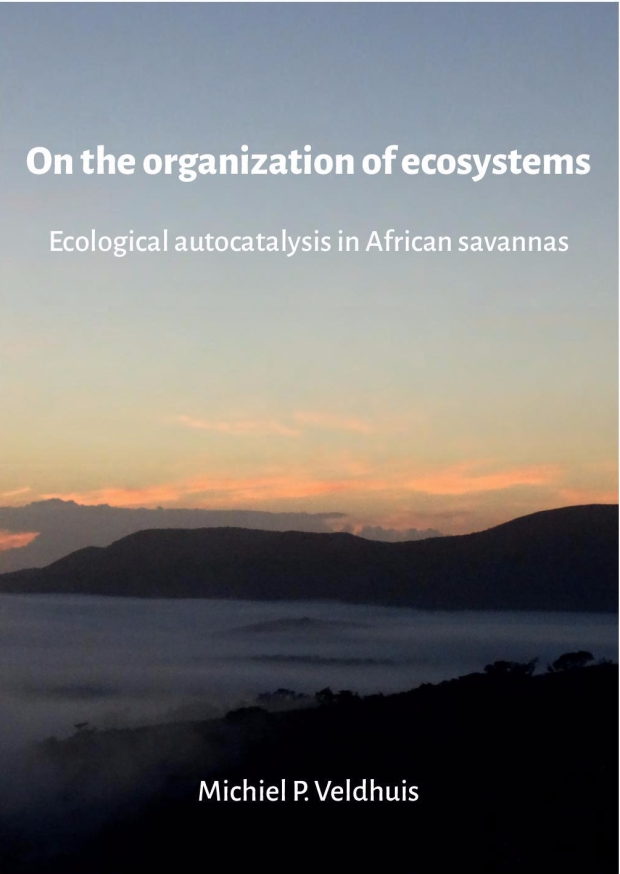 On the organization of ecosystems Ecological autocatalysis in African savannas Veldhuis, Michiel-LR-1-1-page-001